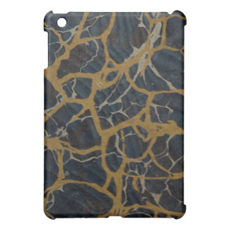 Antique Art Deco Lapis Blue & Gold Book Marble Cover For The iPad Mini
