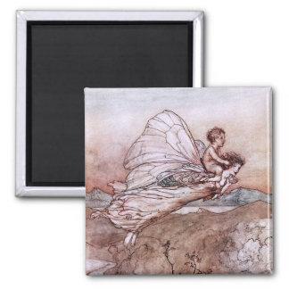Antique Arthur Rackham Fairy Illustration Magnets
