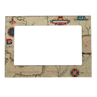 Antique Asia Minor Map Magnetic Frame