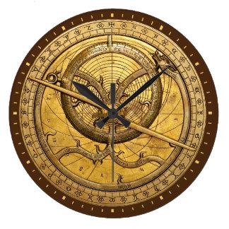 Antique Astrolabe Clock