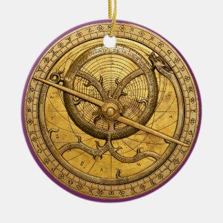 Antique Astrolabe Ornament