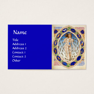 ANTIQUE ASTROLOGY AND ZODIACAL SIGNS Astrologist Business Card