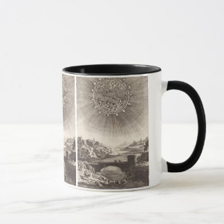 Antique Astronomy Celestial Sky with Sun by Mallet Mug