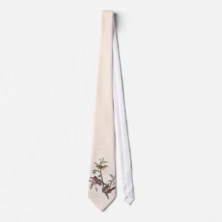 Antique Audubon Painted Bunting Tie
