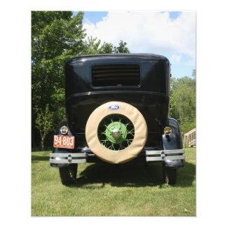 Antique auto photo print