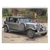 Antique Automobile Calendar 20xx