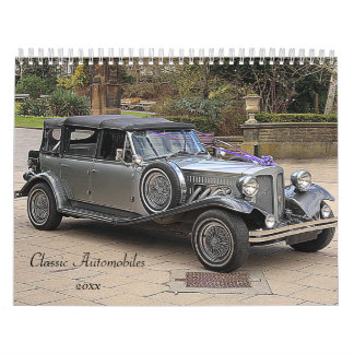 Antique Automobile Calendar 20xx