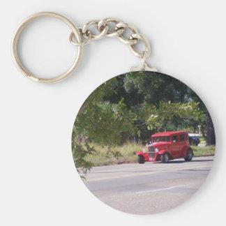 Antique Automobile Key Chain