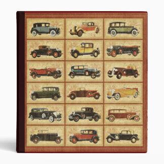 Antique Autos Binder