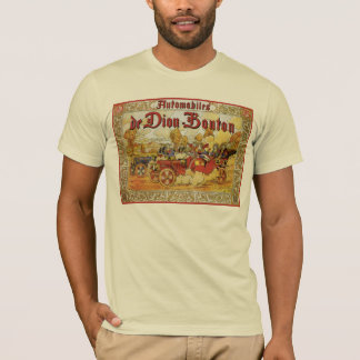 Antique autos De Dion Bouton playing cards theme T-Shirt