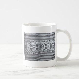 Antique Ayrshire Lace Coffee Mug