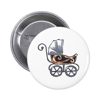 ANTIQUE BABY CARRIAGE PIN
