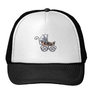 ANTIQUE BABY CARRIAGE TRUCKER HAT