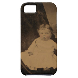 Antique Baby With Tinted Cheeks iPhone 5 Cases