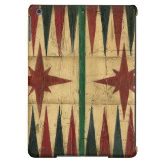Antique Backgammon Game Board by Ethan Harper iPad Air Cover