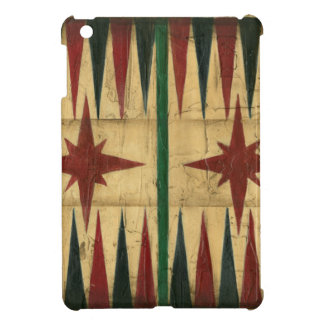 Antique Backgammon Game Board by Ethan Harper Cover For The iPad Mini