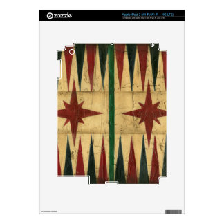 Antique Backgammon Game Board by Ethan Harper iPad 3 Decal