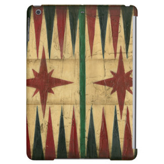 Antique Backgammon Game Board by Ethan Harper Cover For iPad Air