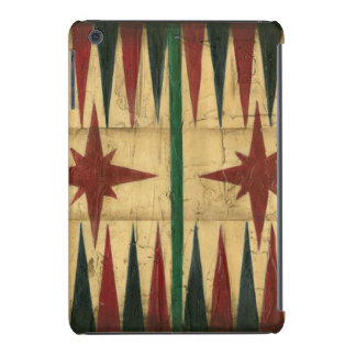 Antique Backgammon Game Board by Ethan Harper iPad Mini Covers