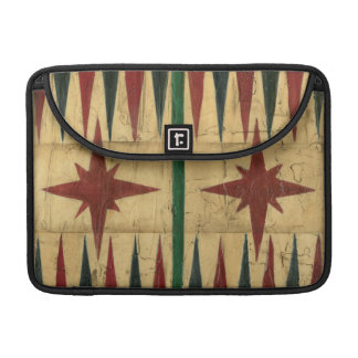 Antique Backgammon Game Board by Ethan Harper Sleeve For MacBook Pro