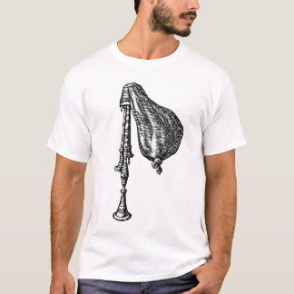Antique Bagpipes T-Shirt