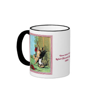 Antique BallantyneThree little kittens Ringer Mug