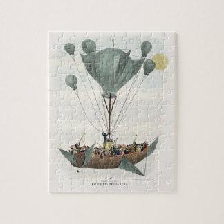 Antique Balloon Air Ship Puzzle