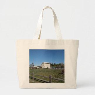Antique Barn, Los Alamos, Caifornia Canvas Bags