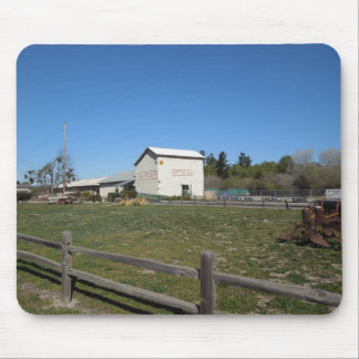 Antique Barn, Los Alamos, Caifornia Mousepads