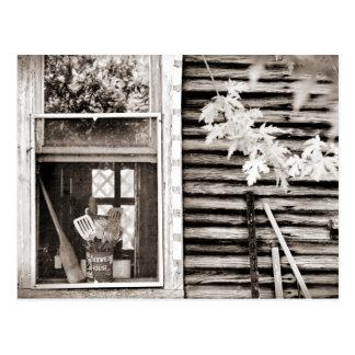 Antique Barn Postcard