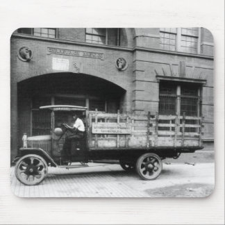 Antique Beer Truck, 1920s Mouse Pad