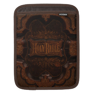 Antique Bible Cover iPad Sleeve