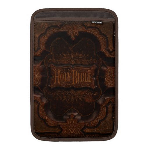 Antique Bible Cover MacBook Sleeve