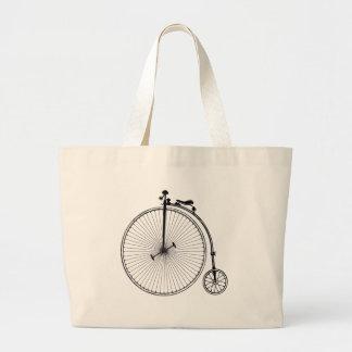 Antique Bicycle Canvas Bag