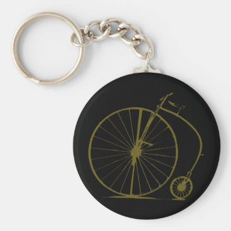 antique bicycle key chains
