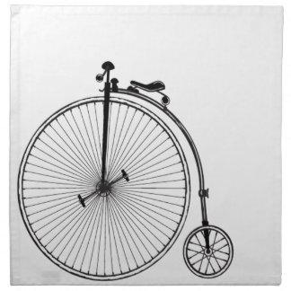 Antique Bicycle Napkins