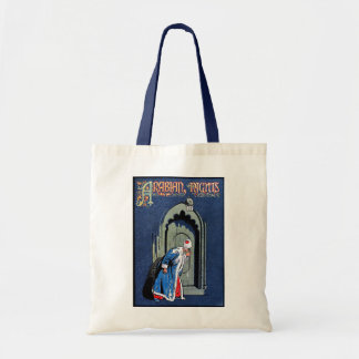 Antique Binding Design Arabian Nights Book Cover Tote Bag