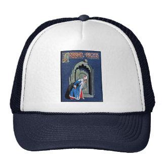 Antique Binding Design Arabian Nights Book Cover Hat