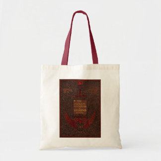 Antique Binding Robin Hood Book Cover Tote Bag