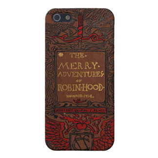 Antique Binding Robin Hood Book  iPhone SE/5/5s Cover