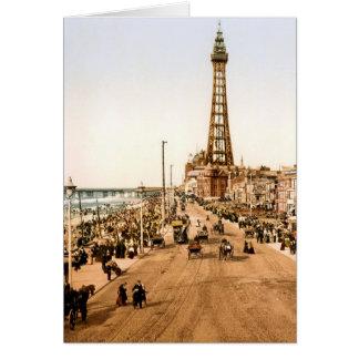 Antique Blackpool British Seaside Greeting Card