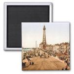 Antique Blackpool British Seaside Fridge Magnets