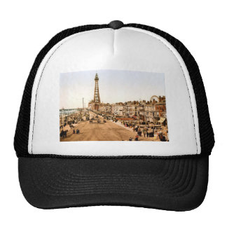 Antique Blackpool British Seaside Trucker Hat