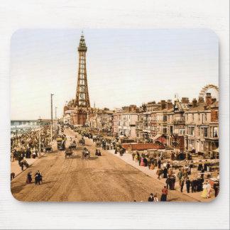 Antique Blackpool British Seaside Mouse Pad