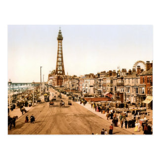 Antique Blackpool British Seaside Postcard