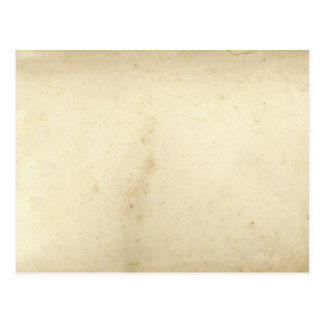 Antique Blank Distressed Aged Stained Old Paper Postcard