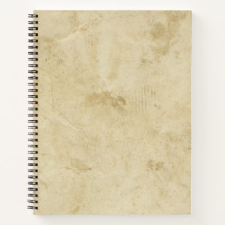 Antique Blank Stained Parchment Distressed Ancient Notebook