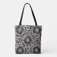 Antique Blue China Pattern Tote Bag
