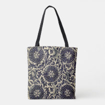 Antique Blue China Pattern Tote Bag