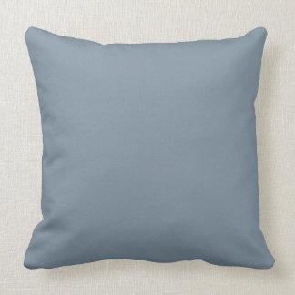 Antique Blue Color Throw Pillow